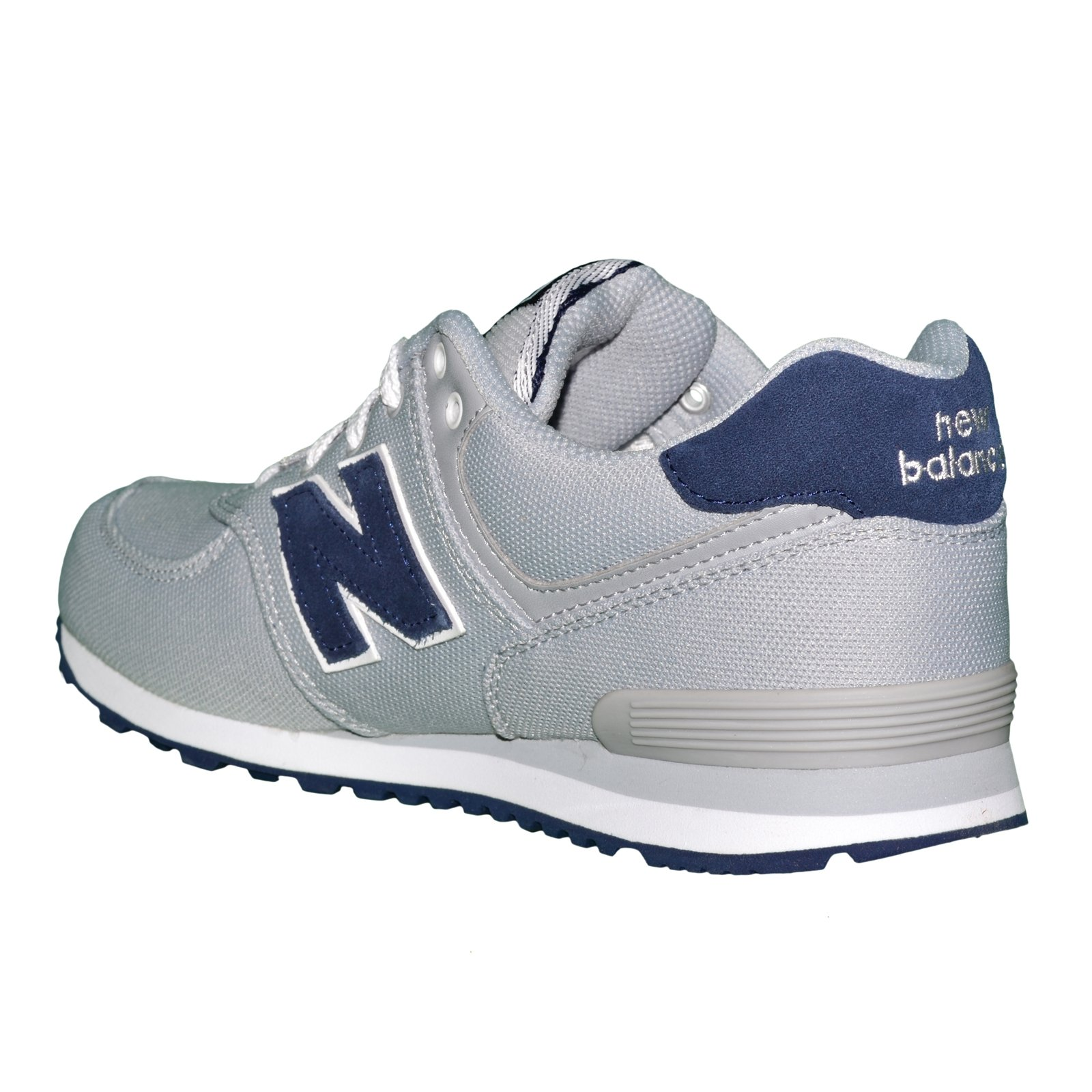 basket new balance kl574 Distance Noir, Light Grise, Blanche Unisex ... 2955feb0c7ee