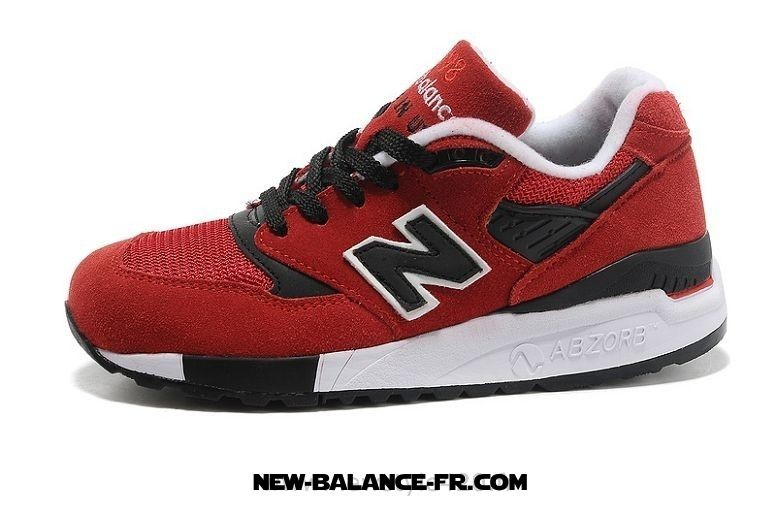 new balance rouge et blanche